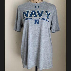 New! UNDER ARMOUR HeatGear NAVY Shirt